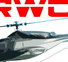 Airwolf TV Series Sticker