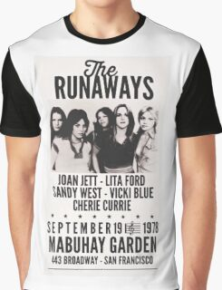 The Runaways Vintage Poster Graphic T-Shirt
