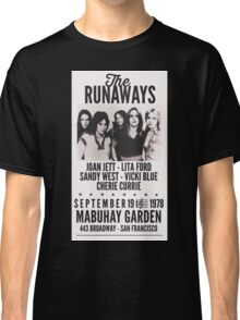 The Runaways Vintage Poster Classic T-Shirt