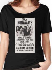 The Runaways Vintage Poster Women's Relaxed Fit T-Shirt
