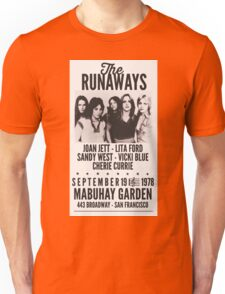 The Runaways Vintage Poster Unisex T-Shirt