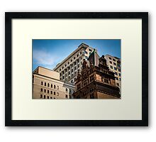 Stop and Look Up Framed Print