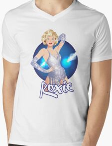 Roxie  Mens V-Neck T-Shirt