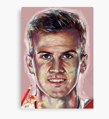 Rob Holding - Arsenal Canvas Print