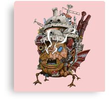 howl moving castle monster tank Canvas Print