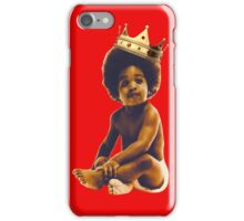 black people lives matter big notoious smalls [TW] iPhone Case/Skin