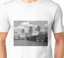 Red Buses, London Bridge Unisex T-Shirt
