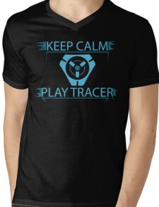 Overwatch - Keep Calm and Play Tracer Mens V-Neck T-Shirt