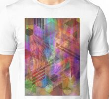 Magnetic Abstraction - By John Robert Beck Unisex T-Shirt