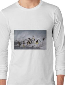 King Penguin Arrival Long Sleeve T-Shirt