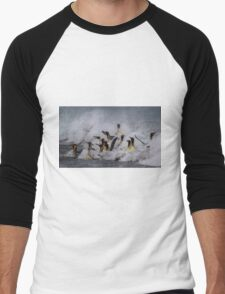 King Penguin Arrival Men's Baseball ¾ T-Shirt