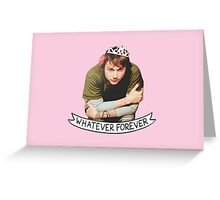 Princess Frank Iero Greeting Card