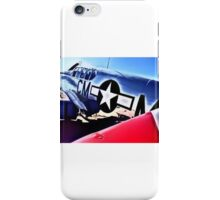P-51 Mustang, Cadillac Of The Sky iPhone Case/Skin