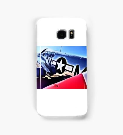 P-51 Mustang, Cadillac Of The Sky Samsung Galaxy Case/Skin