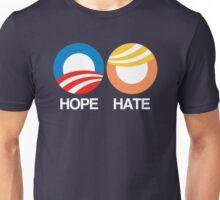 Hope vs. Hate Unisex T-Shirt