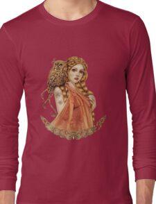 Blodeuwedd Owl Maiden Long Sleeve T-Shirt