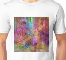 Magnetic Abstraction (Square Version) - By John Robert Beck Unisex T-Shirt