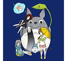 fammili collage ghibli Photographic Print