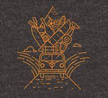 Retro travel van Unisex T-Shirt