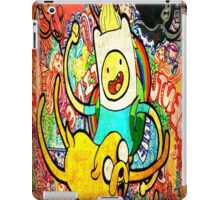 finn jake brush @@ iPad Case/Skin