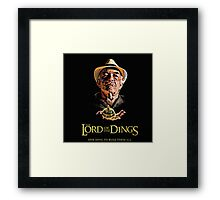 Lord of the Dings Framed Print