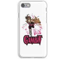 super card magic gambit iPhone Case/Skin