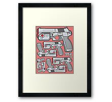 PS1 Namco GameCon Controller - Revive2 Framed Print