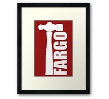 Fargo Hammer of Lester Nygaard Framed Print