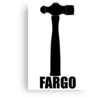 Fargo Hammer of Lester Nygaard Canvas Print