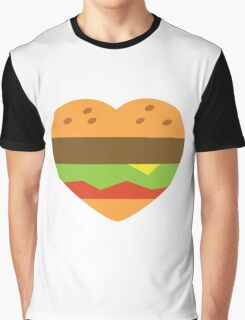 I heart burgers Graphic T-Shirt