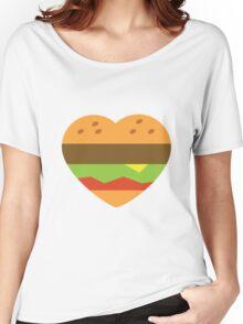 I heart burgers Women's Relaxed Fit T-Shirt
