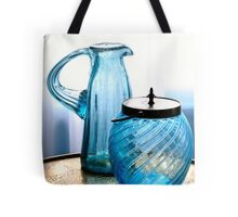 Double Blues Tote Bag