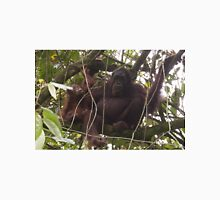 Orangutan Family - Borneo Unisex T-Shirt