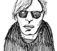 Andy Warhol by Tara Lea