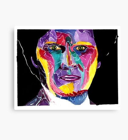 Sixth Doctor from doctor who / Colin Baker Canvas Print