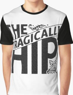 THE TRAGICALLY HIP BLACK Graphic T-Shirt