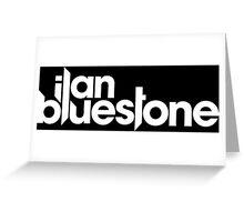 ilan bluestone white Greeting Card
