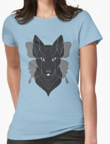 Canid Effect Womens Fitted T-Shirt