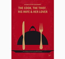 No487 My The Cook the Thief His Wife and Her Lover minimal movie poster Unisex T-Shirt