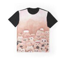 Ramen Cats Graphic T-Shirt