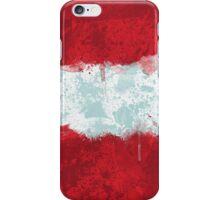 Austrian Flag Grunge iPhone Case/Skin