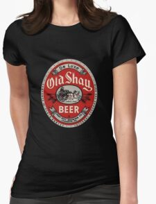 Old Shay Beer Womens Fitted T-Shirt