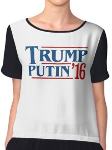 Trump Putin 2016 Chiffon Top