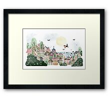 Just Another Delivery Framed Print