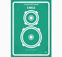 No491 My 8 Mile minimal movie poster Unisex T-Shirt