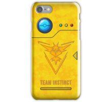 Pokedex - Team Instinct iPhone Case/Skin