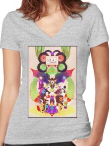 The Undertalers Women's Fitted V-Neck T-Shirt
