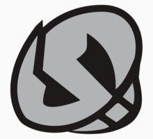 Team Skull Emblem (non shiny) One Piece - Short Sleeve