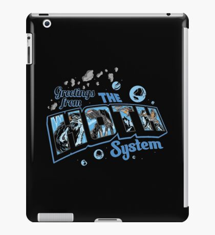 Greetings From Hoth iPad Case/Skin