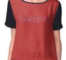 Chrystal Chiffon Top